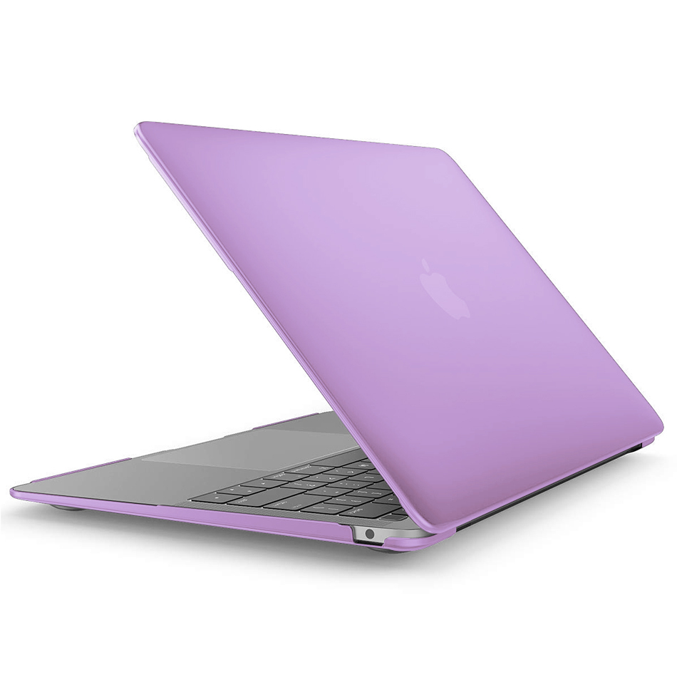 brand new ccc93 1ea62 Frosted Hard Case - 2018 Apple MacBook Air 13-inch (Purple)